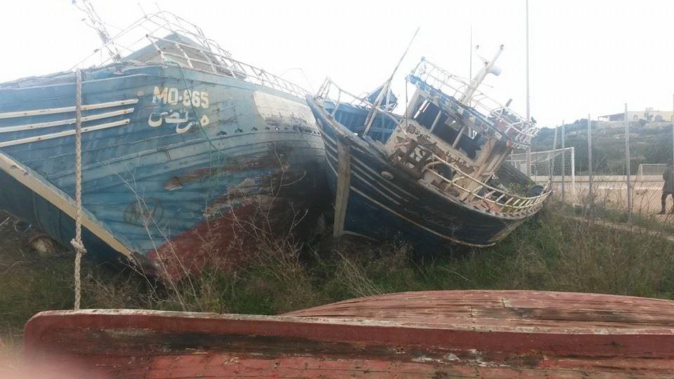 cimitero delle barche