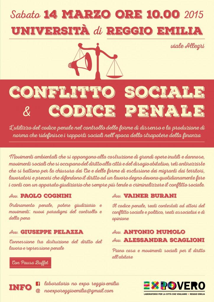 codice penale e conflitto sociale